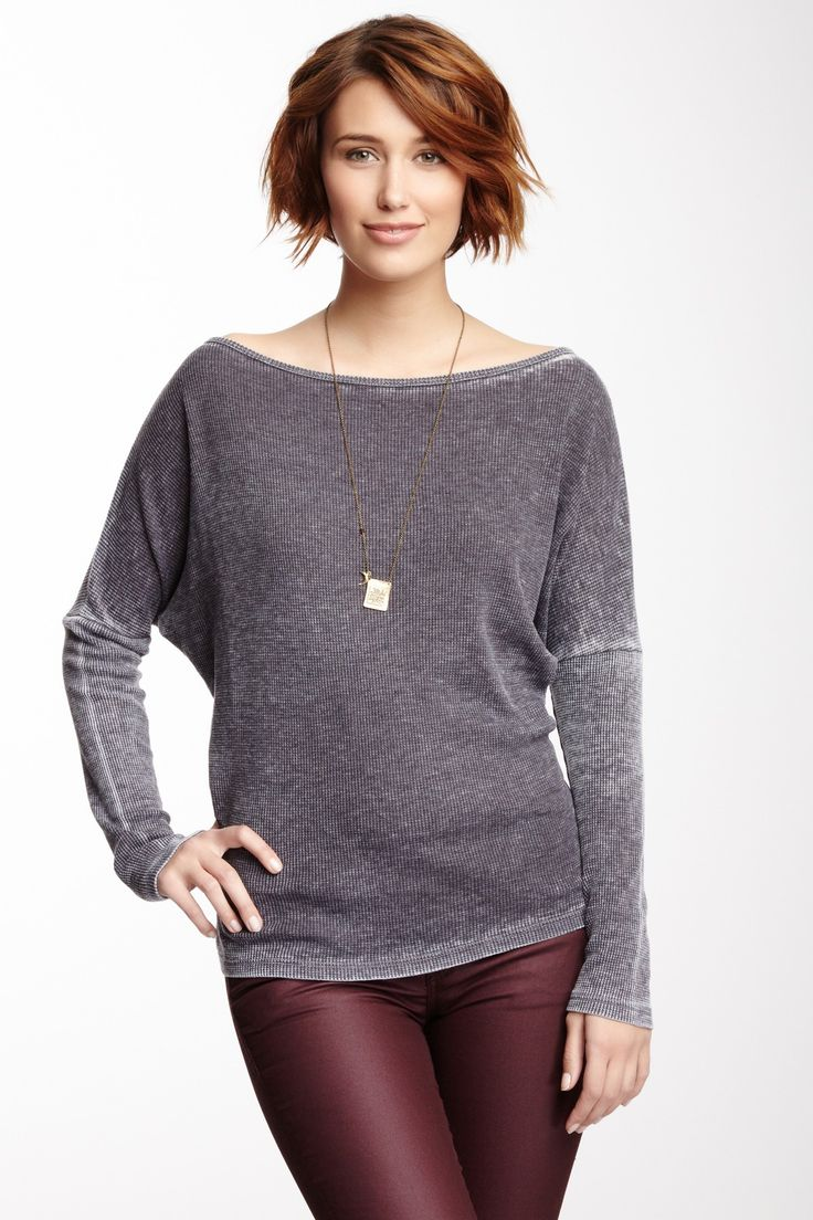 Boatneck Thermal Tee on HauteLook