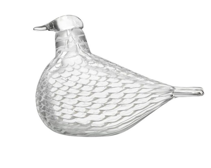 Iittala Oiva Toikka Art Glass Bird