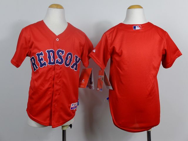 Youth MLB Boston Red Sox Blank red 2014 Jerseys 8693ed12f4c