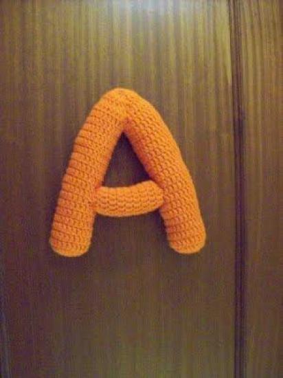 81 best Letras a ganchillo images on Pinterest | Letras de ganchillo ...