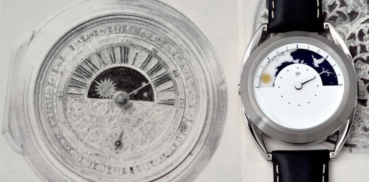 Originální značka designových hodinek Mr Jones Watches. Pouze na 24Time.cz http://www.24time.cz/sun-and-moon/