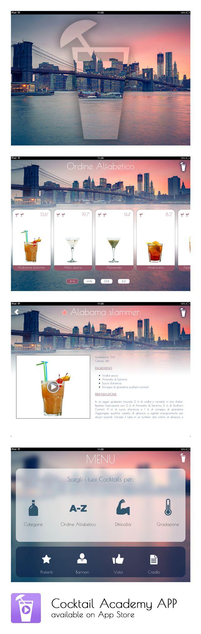 Cocktail Academy APP - App Store: https://itunes.apple.com/app/cocktail-academy-la-prima/id717210160?mt=8