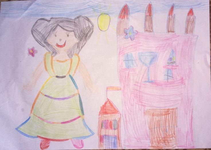 Julka (lat 5) dosyła nam kolejne prace