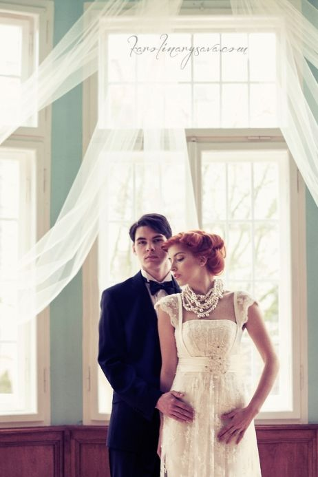 wedding, bride, groom, piano, vintage, belle epoque, czech republic, eventista