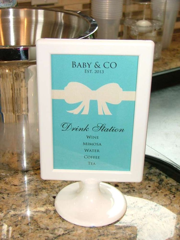 Breakfast at Tiffany's Baby Shower Party Ideas | Photo 1 of 58 | Catch My Party