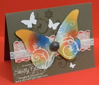 Beautiful Butterflies die: Beautiful Butterflies, Cards All Occasion Birthday, Card Ideas, The Butterflies