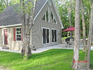 South Haven Cottage Rental: Newer Secluded Cottage In The Woods W/private Lake Mi Access!   HomeAway