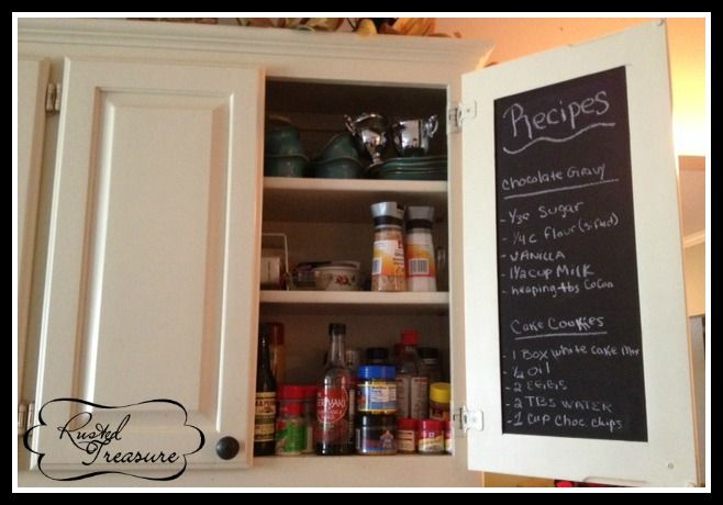17 best images about kitchen on pinterest oak cabinets for Chalkboard paint kitchen cabinets