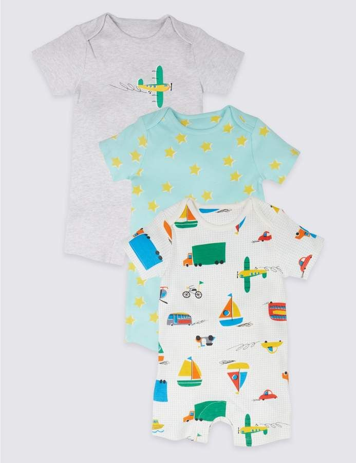 af53f9b0312c Oh my gosh look at these gorgeous little boy rompers! The colours ...
