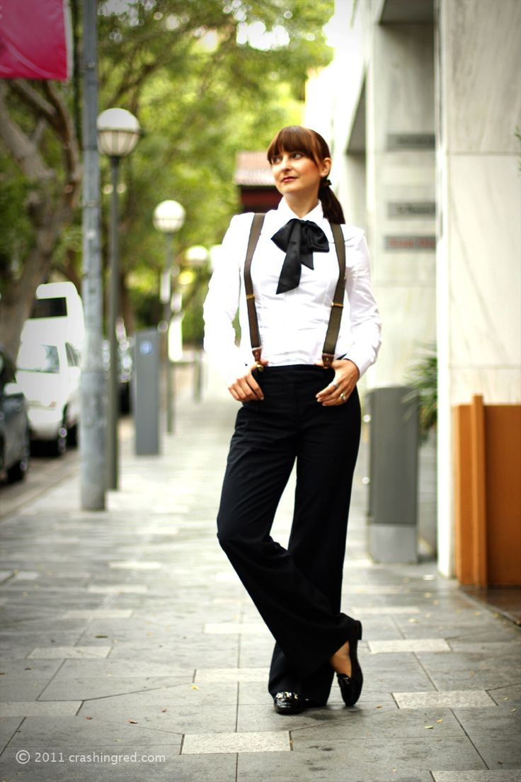 Boy meets girl with a bow tie and braces #suspenders #fashion #cute #style #summer