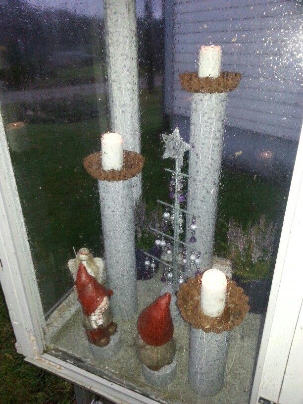 Kynttilälyhty jouluna