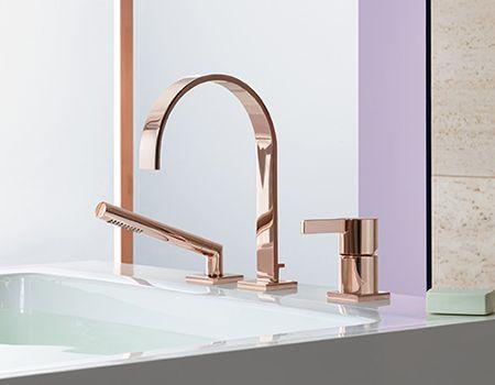 #Dornbracht #MEM 27312782-49 Three hole single lever bath mixer Finish…