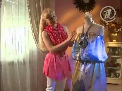 076 - Ольга Никишичева. Модный сарафан