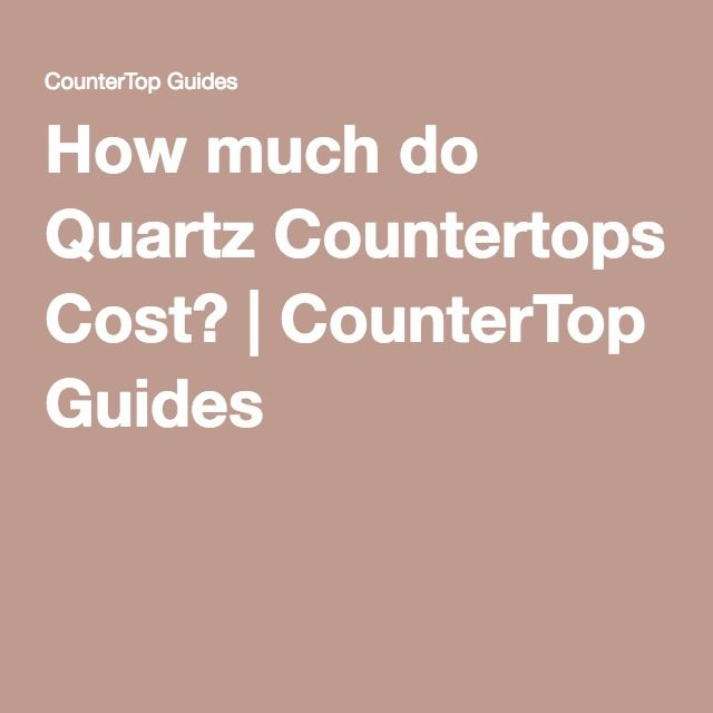 25 best ideas about quartz countertops cost on pinterest Quartz countertops cost