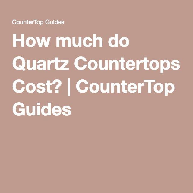 best 25+ quartz countertops cost ideas on pinterest | kitchen