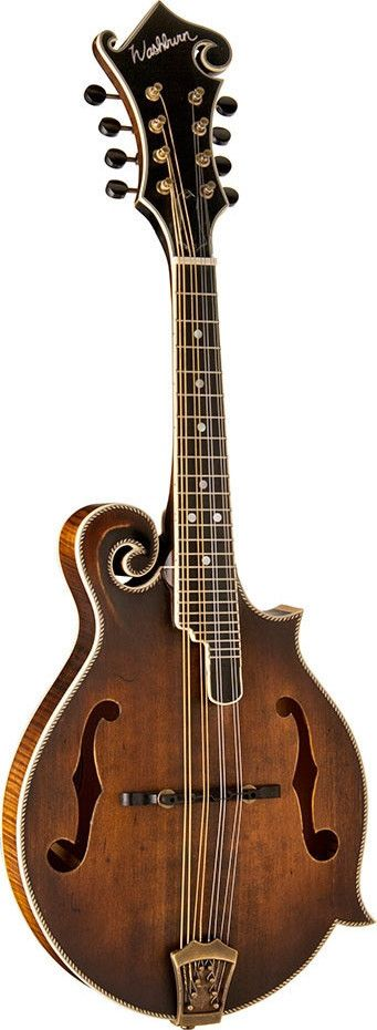 Washburn M118SW F-Style Mandolin Vintage Natural ... Drooling over this one