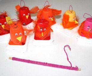 bricolage peche canards