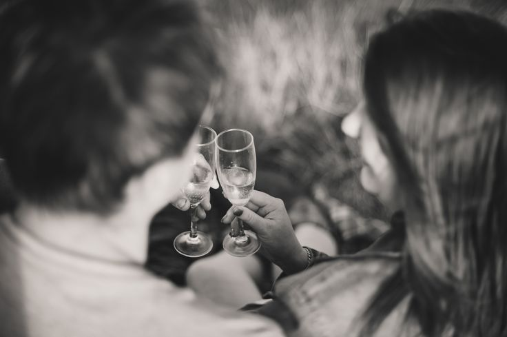 Engagement photography. Cheers.