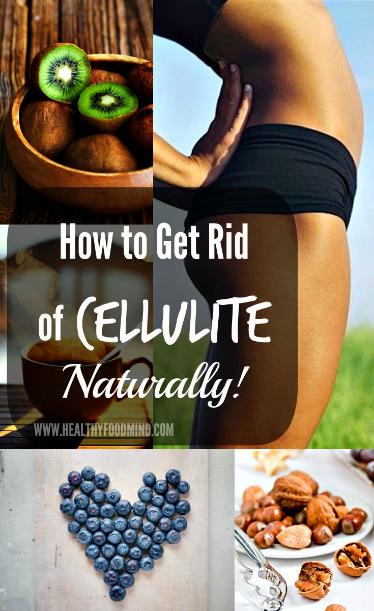 The key to reducing cellulite is to focus on adequate intake of fluids and collagen rich foods. Keep in mind that good circulation and regular workout are also very important.