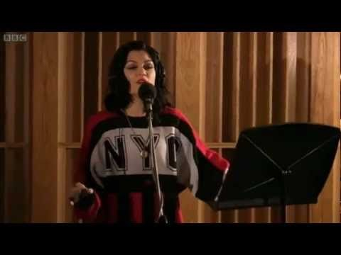Jessie J performing and Acoustic cover of her original number 1 hit 'Domino', for BBC Live Lounge Session.  Her voice is simply mesmerizing!!!