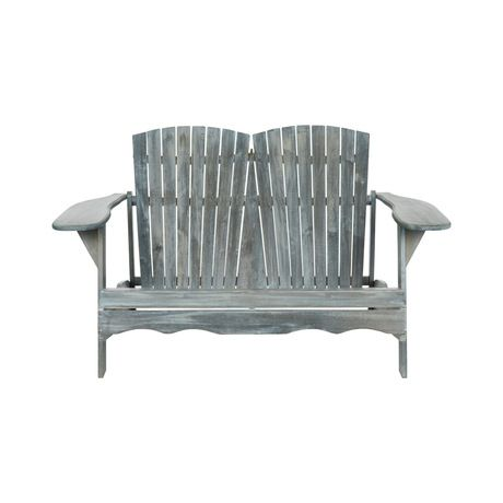Audrey Shell-Backed Bench