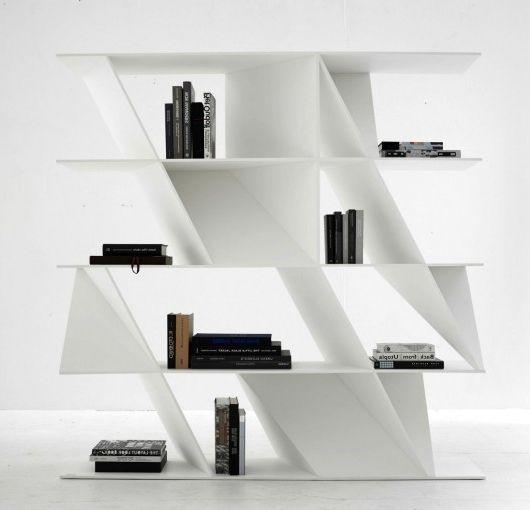 Daniel Libeskind for Poliform - stylish Web bookcase