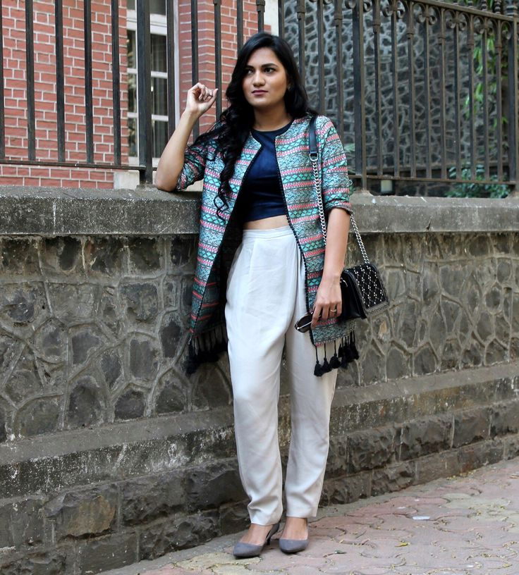 Printemps  Jacket - Rena Love | Pants - Zara | Crop top -First&I | Bag - Zara | Shoes - Zara | Sunglasses - Dior  #styllogue