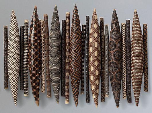 nice African influenced wall sculpture