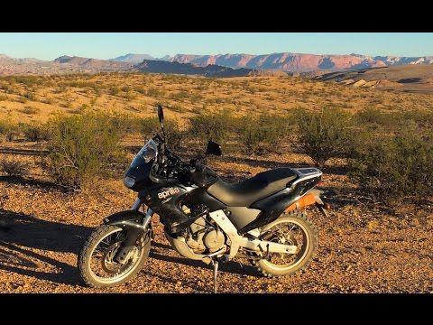 Peggy:  The Village Motorcycle (Aprilia Pegaso 650) - YouTube
