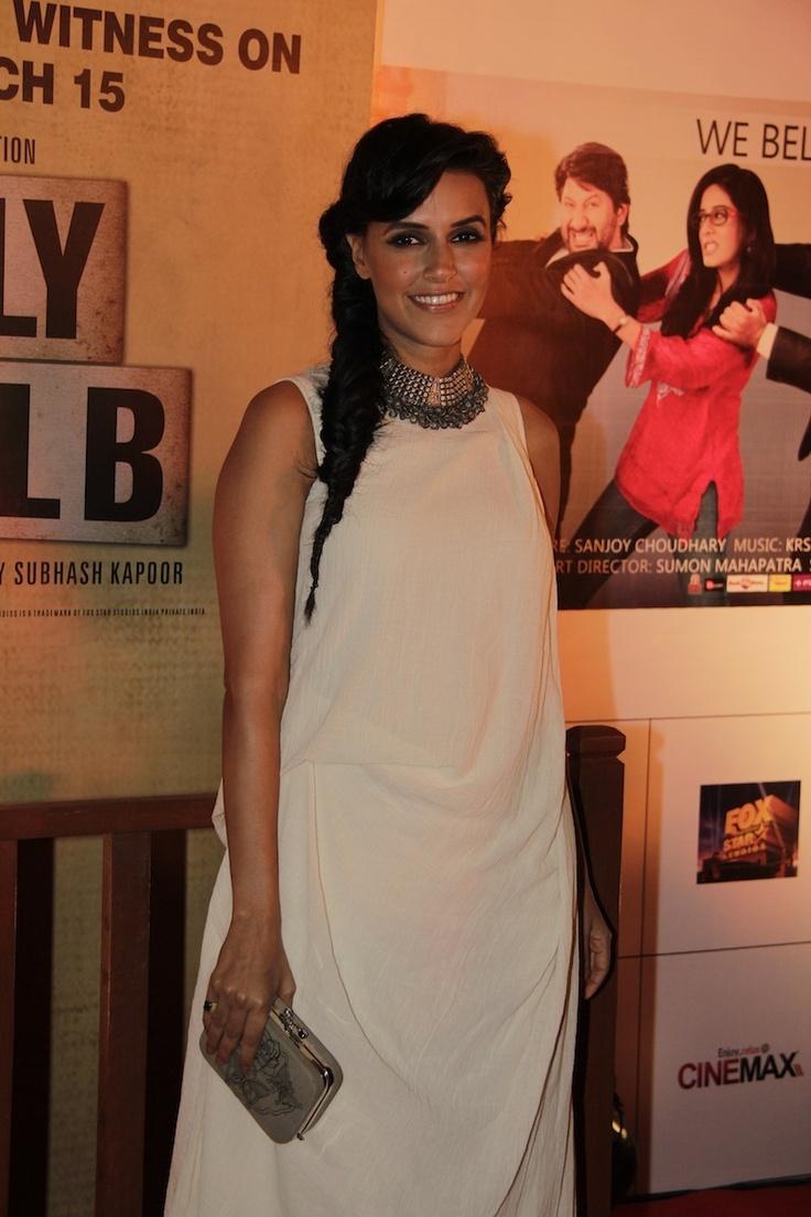 Neha Dhupia at Movie Jolly LLB Premiere.