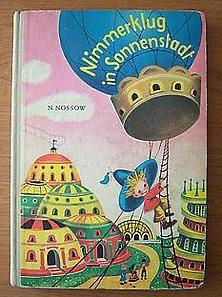 Bild: Nimmerklug in Sonnenstadt + DDR Kinderbuch