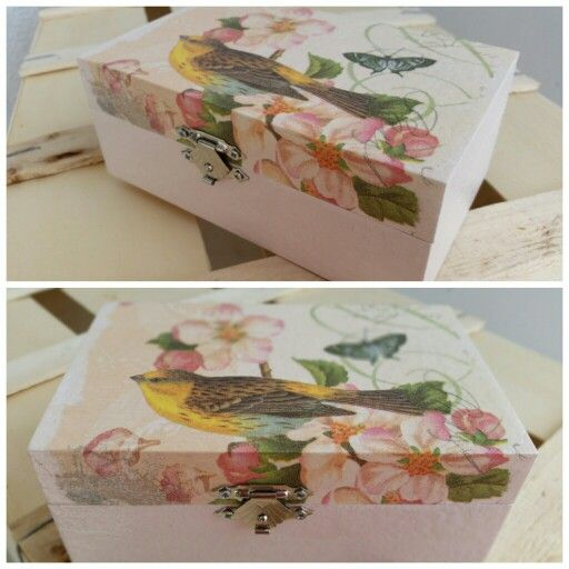 Decoupage box