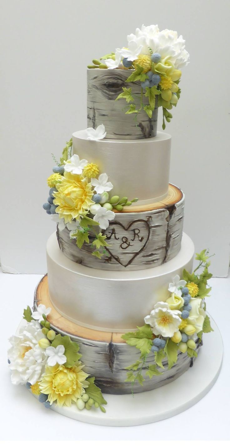 amazing wedding cakes photo gallery les 1264 meilleures images du tableau woodland cakes sur 10722