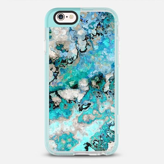 Marble Art V7 iPhone & iPod Case - New Standard Pastel Case