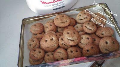 Pasticciando in cucina con il Cuisine Companion Moulinex: Biscotti grano saraceno e camomilla