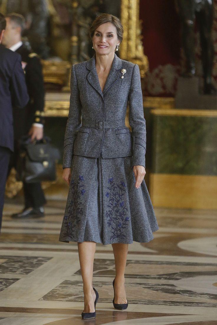 Traje de chaqueta - Las imágenes del día de la Fiesta Nacional