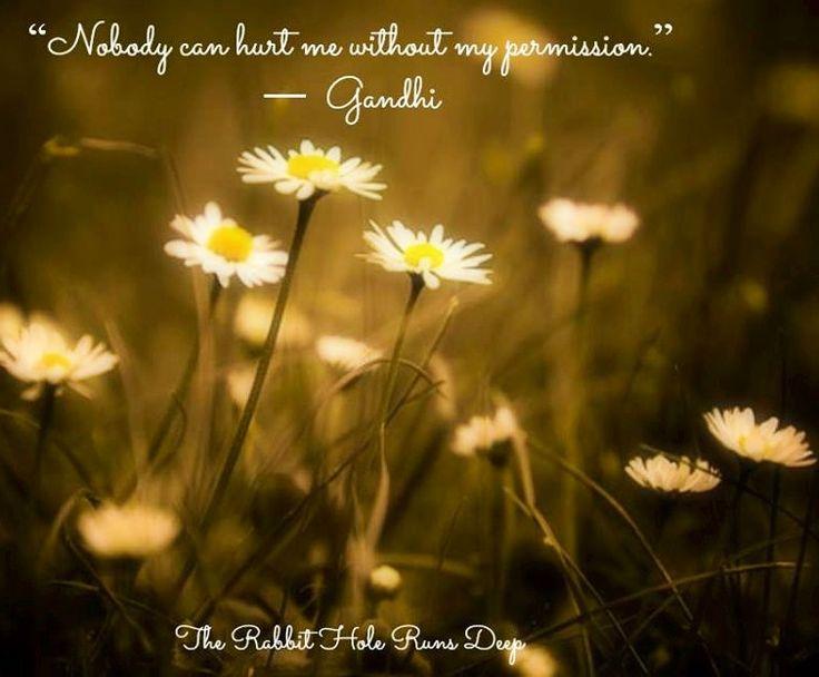 Gandhi quote via www.TheRabbitHoleRunsDeep.Blog.com