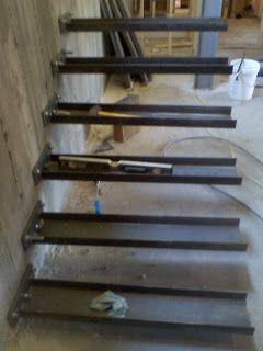 Timber Springs Lodge: Floating Stair Update