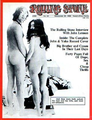 Annie Leibovitz John Lennon Yoko Ono Rooling Stone Cover