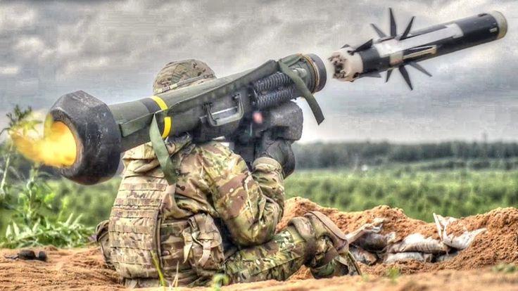 US  Anti Tanks Missle FGM -148 Javelin Compilation  | HD