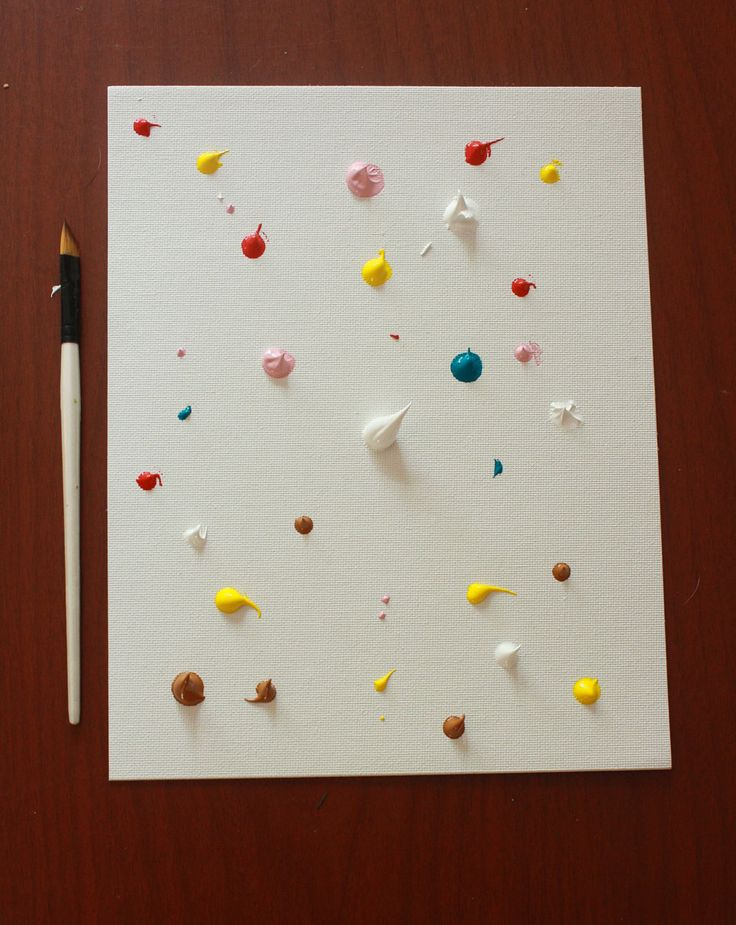 Craft pond blog archive easy abstract painting diy for Diy watercolor abstract art