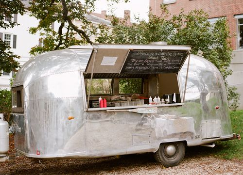 A food truck that sells oysters in an airstream trailer...it's like a nexus of awesomeness.