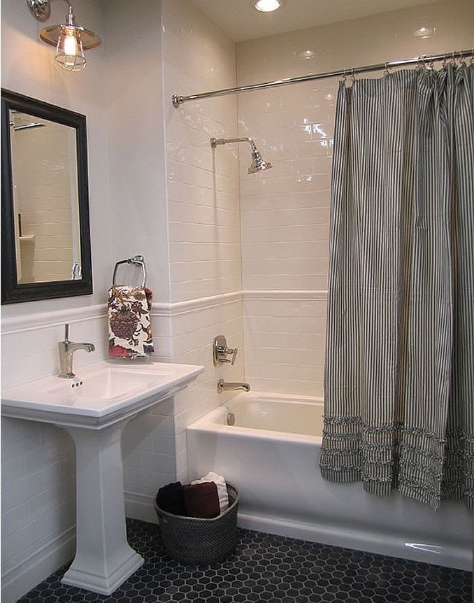 shower/tub redo for girls