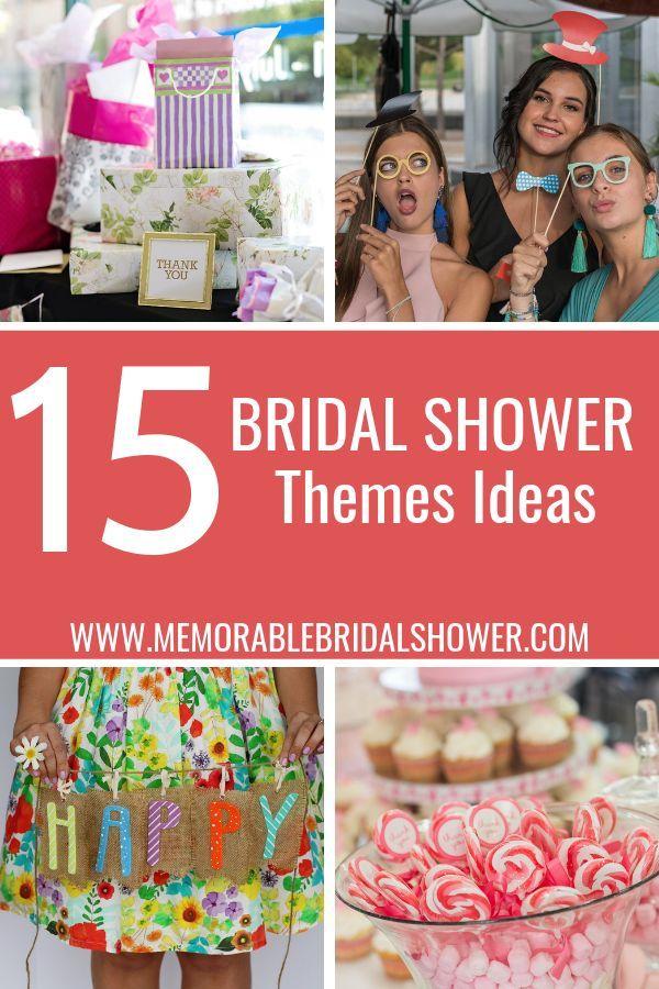 15 Unique Bridal Shower Themes