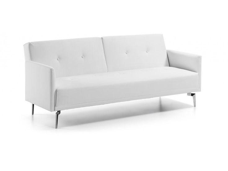 Sofa Flora I biała — Sofy LaForma — sfmeble.pl