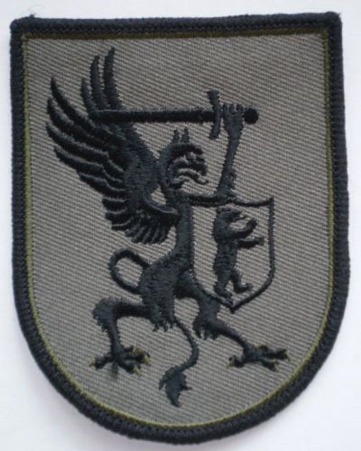 Lithuanian Camouflage CAMO Uniform Patch Special Forces Samogitia Brigade