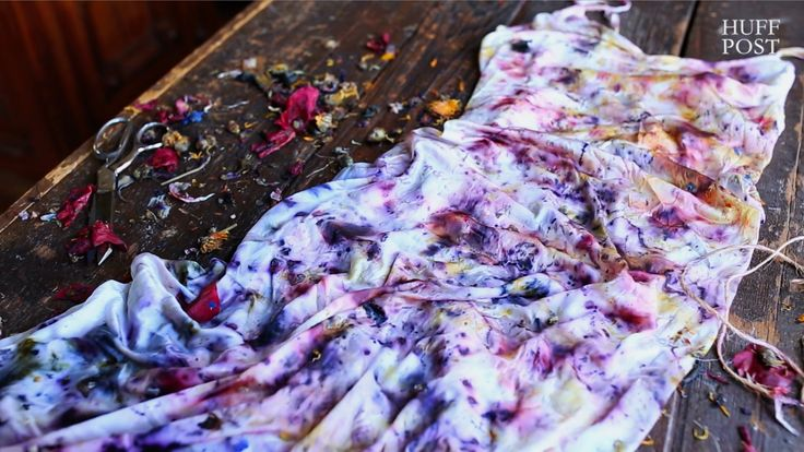 About 40% of flowers in the commercial industry end up in the trash, but designer Cara Marie Piazza sees that waste as a perfect source for her natural dyes....
