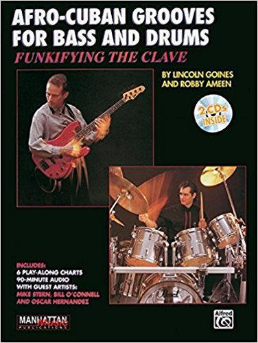 Designed for drummers and bass players, this book/CD lays out a step-by-step approach to combining Afro-Cuban rhythms with rock, funk and jazzs