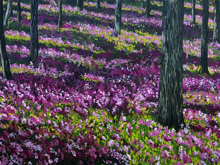Quinacridone Flowers