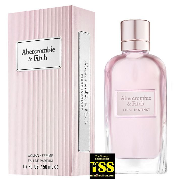 Abercrombie & Fitch First Instinct for Women (2017) {New Fragrance}